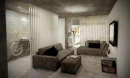 industrial Living room by Santiago | Interior Design Studio