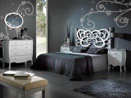 Decorando la cama con cabeceros de forja for Muebles estilo barroco moderno