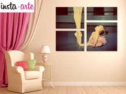 Collage : Comedor de estilo  por Arte&Fotos.mx