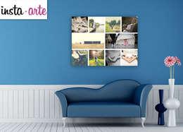 Hogar de estilo  por Arte&Fotos.mx