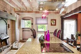 Maison de campagne revisitée - Marines 95: Maisons de style de style Classique par Katia Rocchia Home Designer