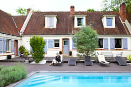 Projekty, klasyczne Domy zaprojektowane przez Katia Rocchia Home Designer