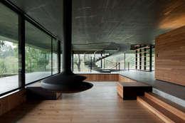 Projekty,  Salon zaprojektowane przez JPL Arquitecto