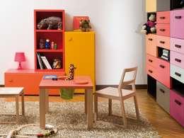 Projekty,  Pokój dziecięcy zaprojektowane przez MOBIMIO - Räume für Kinder