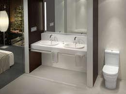 Architectura von Villeroy & Boch ‒ zeitloses Design für Ihr Bad:  Badezimmer von Villeroy & Boch AG