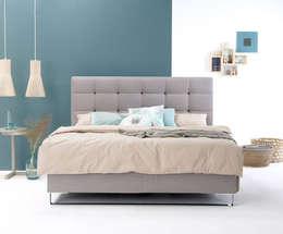KwiK Designmöbel GmbH: modern tarz Yatak Odası