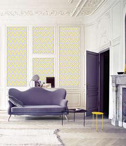 Lés uniques: Salon de style de style eclectique par Lé Papiers de Ninon