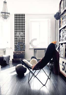 eclectic Living room by Lé Papiers de Ninon