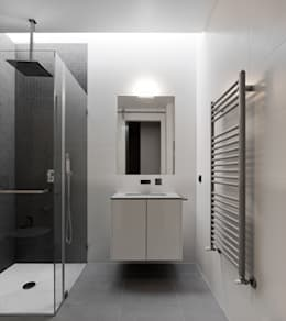 modern Bathroom by A2+ ARQUITECTOS
