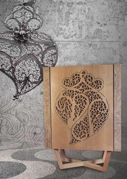 Salle à manger de style  par Creative-cork