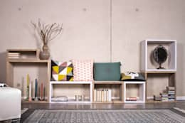 Salon de style de style Scandinave par PURE Wood Design