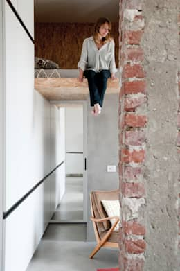 industrial Houses by Cristina Meschi Architetto