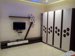 moderne Slaapkamer door one3designer_2005
