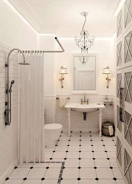 Baños de estilo escandinavo de Котова Ольга