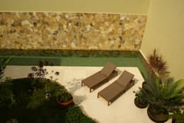 Casa K: Jardines de estilo minimalista por arqflores / architect