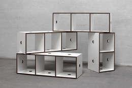 Salon de style de style Minimaliste par designobjectsound