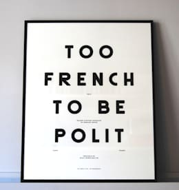 "MOODPAPER ""TOO FRENCH TO BE POLIT"": Murs & Sols de style de style Scandinave par Polit"
