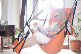 Balcone, Veranda & Terrazzo in stile  di Pimiento OHG - Crazy Chair