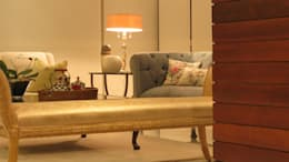 MONÉ 19: Salas de estilo ecléctico por NIVEL TRES ARQUITECTURA