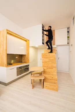 Cuisine de style de style Minimaliste par Beriot, Bernardini arquitectos