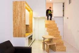minimalistic Kitchen by Beriot, Bernardini arquitectos