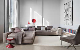 modern Living room تنفيذ QuartoSala - Home Culture