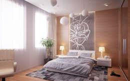 Chambre maitre: Chambre de style de style Méditerranéen par Amber Design