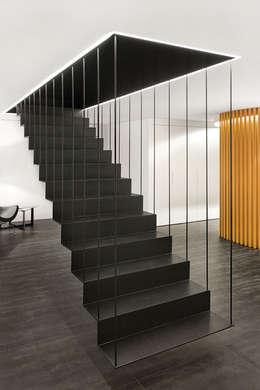 Barandillas y elementos de protecci n para escaleras for Rodapie negro