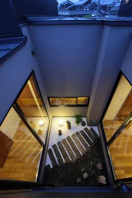 Giardino in stile in stile Eclettico di 株式会社 オオタデザインオフィス