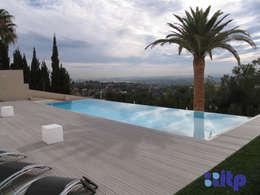 minimalistisch Zwembad door ITP Piscinas