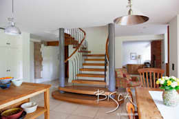 Corridor, hallway & stairs  by Bisca Staircases