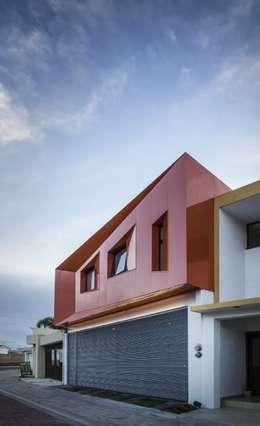 modern Houses by PLASTIK ARQUITECTOS