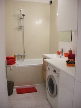 Salle de bain - Homestaging: Salle de bain de style de style Scandinave par Parisdinterieur
