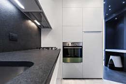 Cocinas de estilo moderno de Arch. Andrea Pella
