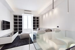 Projekty,  Salon zaprojektowane przez Arch. Andrea Pella