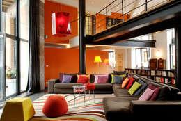 Appartement D 1.1: Maisons de style de style Moderne par URBAN NATION & GICART- RENAUD, ARCHITECTES