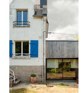 Huizen door Jean-Charles CASTRIC - architecte D.P.L.G.