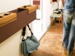 Corridor, hallway & stairs by Vanpey