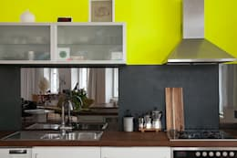 eclectic Kitchen by Berlin Interior Design