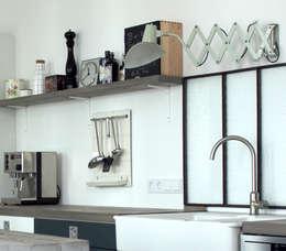 industrial Kitchen by Berlin Interior Design