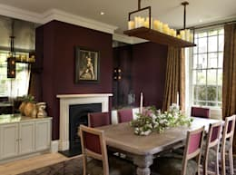 eclectic Dining room by Concept Interior Design & Decoration Ltd