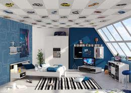 Paredes y pisos de estilo moderno por U2