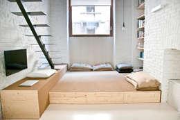 Pedana: Studio in stile in stile Minimalista di R3ARCHITETTI