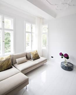 scandinavian Living room by lifelife GmbH