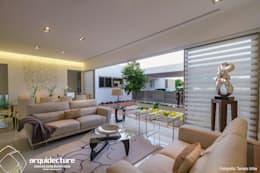 modern Living room by Grupo Arquidecture