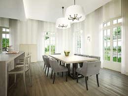 مطبخ تنفيذ Berga&Gonzalez - arquitectura y render