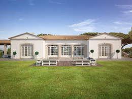Projekty, klasyczne Domy zaprojektowane przez Berga&Gonzalez - arquitectura y render