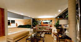 modern Living room by Jorge Bolio Arquitectura