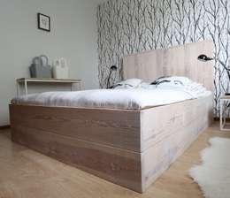 Dormitorios de estilo escandinavo por Isladesign