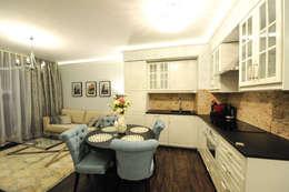 Apartament na Kazimierzu: styl , w kategorii Kuchnia zaprojektowany przez AgiDesign